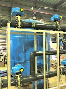 栽培漁業センター 海水除濁濾過処理装置